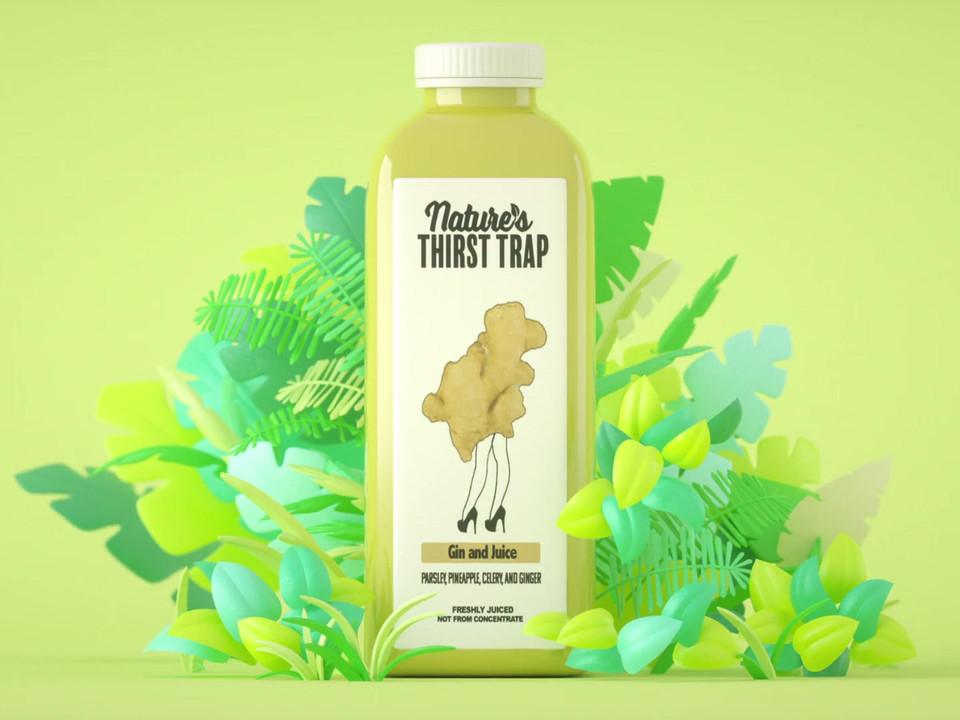 Nature's Thirst Trap