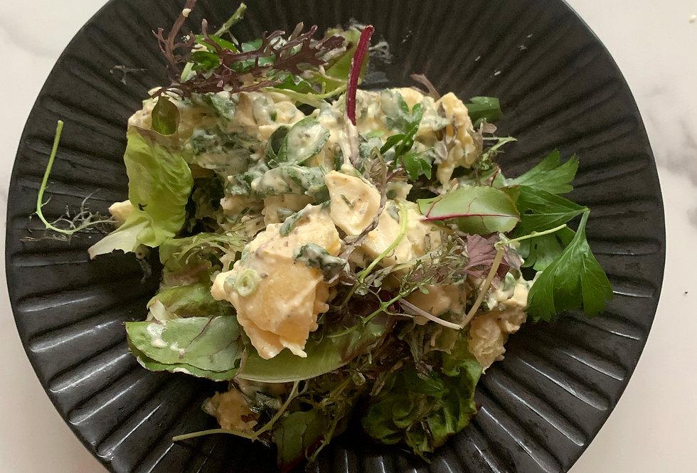 Luxurious Potato & Herb Salad (Serves 4).