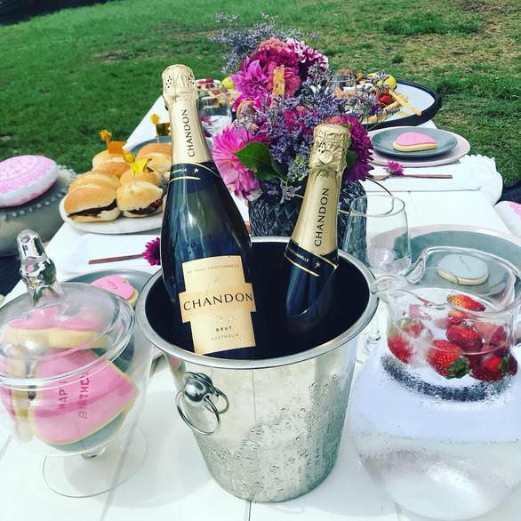 Cheese & Champagne Picnics