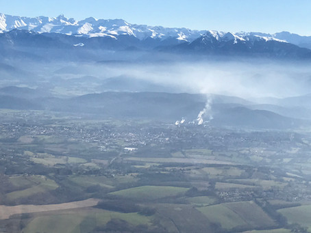 Survoler le Pic du Midi...