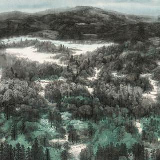 高楠 《冬》 124×248cm