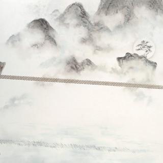 陳瑞瑩 《平安的距離》 90×172cm