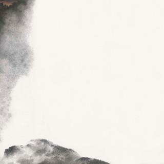 黃孝逵 《獅山破霧》 138×205cm
