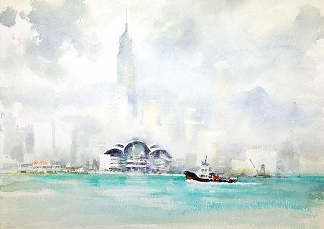 HK Style - Au Yeung Nai Chim 歐陽乃沾畫香港