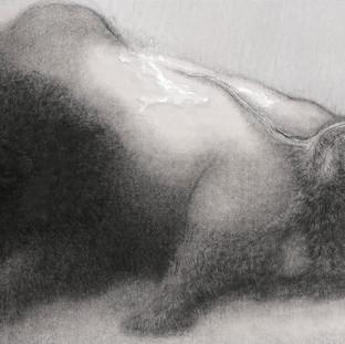關玉良 《公牛祭》 123.5×246.5cm