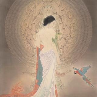 方瓊 《慈悲》 193×141.5cm