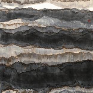 陳詠怡 《山水17026897》 178×96.5cm