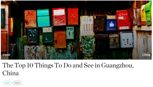 The Top 10 Things To Do and See in Guangdong, China