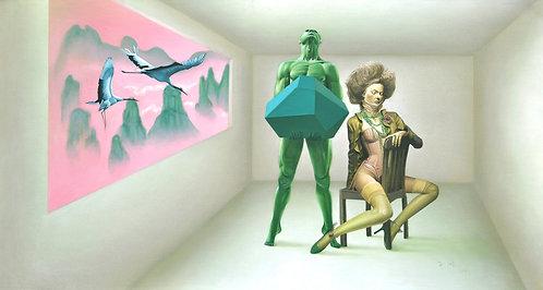 Decadent Illusion: Chen Zifeng 無處銷魂‧陳子風油畫展