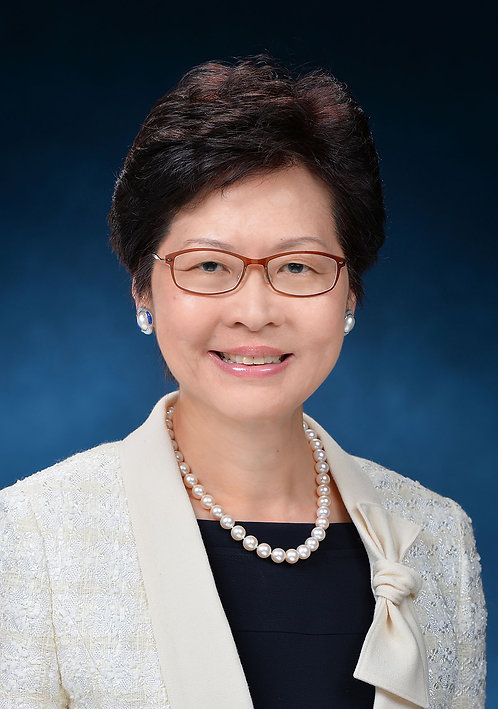 Chief Executive Mrs Carrie Lam 行政長官林鄭月娥