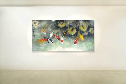 Art Print:Zhao Wuchao 印畫  九如圖(四)  招務超