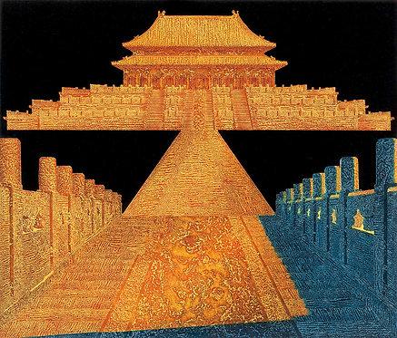 Forbidden City in Wood: Tian Li's Prints Exhibition 皇城遺韻‧田力版畫展