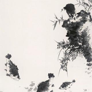 楊僖宏 《清風興歸》 179×96cm
