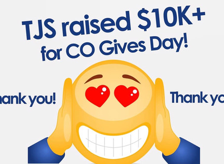 Colorado Gives Day 2019 Gives TJS Highest Level of Donations….EVER!