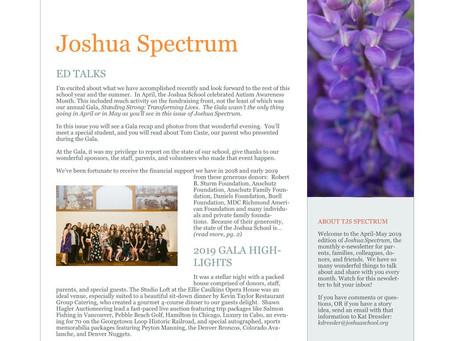The Joshua Spectrum April-May 2019