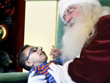 Daily Camera: Sensory friendly Santa event gives kids with special needs a better option