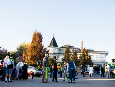 Trunk or Treat! What a fun time…