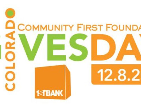 Support TJS on Colorado Gives Day - December 8