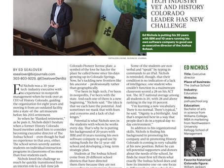 Denver Business Journal: Ed Nichols, Version 3.0