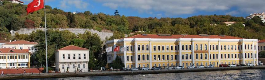 Galatasaray Üniversitesi Boğazdan