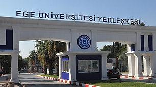 Ege Üniversitesi, 1955 tarihinde Türkiye'nin dördüncü üniversitesi olarak kurulmuş ve eğitim vermeye 1955-1956 eğitim-öğretim yılında başlamıştır. 1982 yılında Dokuz Eylül Üniversitesi'nin kurulmasıyla beraber üniversitenin birçok fakültesi bu yeni kurulan üniversiteye devredilmiştir. 2019 yılı itibariyle Ege Üniversitesi'nde, 17 Fakülte, 9 Enstitü, 4 Yüksekokul, 1 Devlet Türk Musikisi Konservatuvarı ve 10 Meslek Yüksekokulu bulunmaktadır.