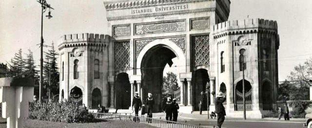 İstanbul Üniversitesi Eski Fotoğraf