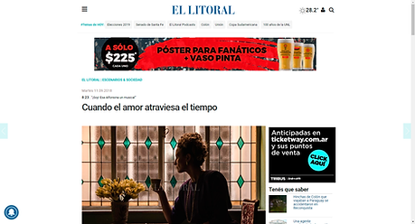 "Diario ""El Litoral"", Santa Fe, Capital, Argentina (2018)"
