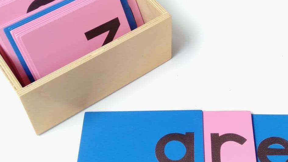 Sandpaper Letter