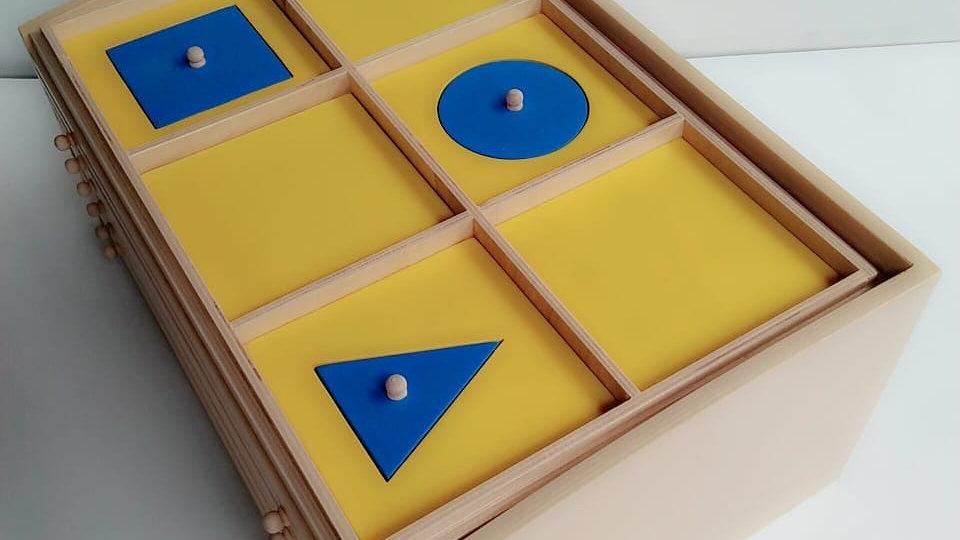 Geometric Cabinet 6 Tray