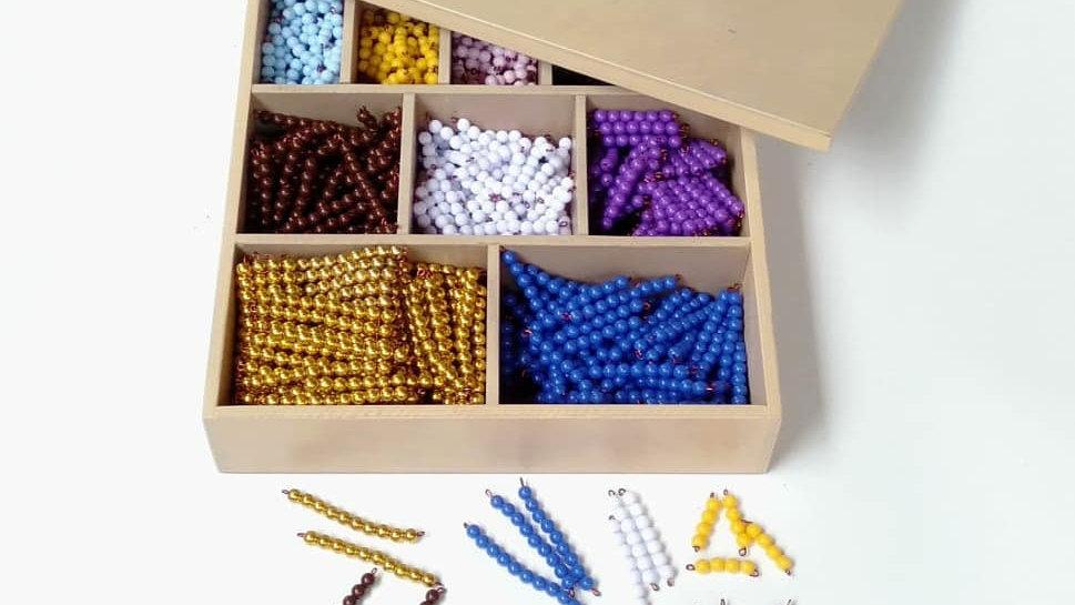 Decanominal Bead Bar Box
