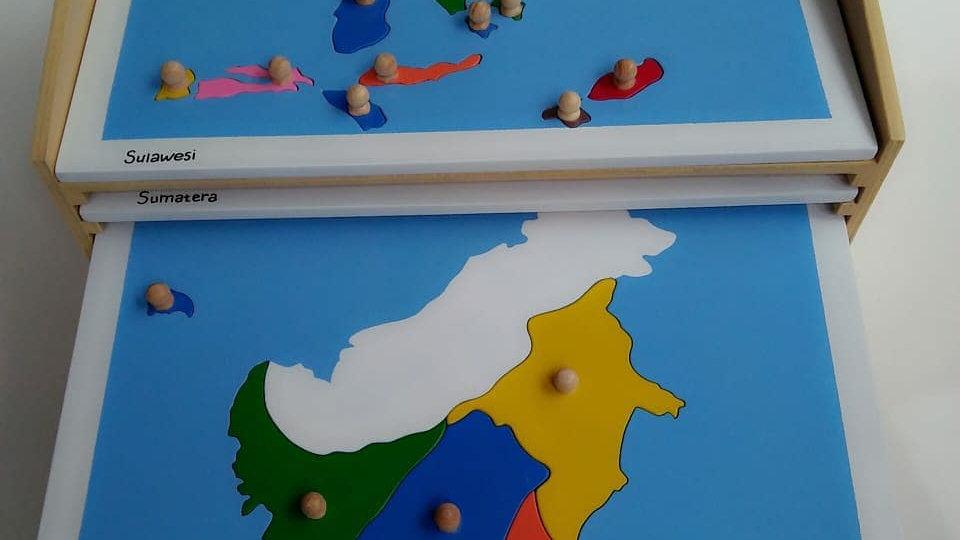 Map Puzzle Set