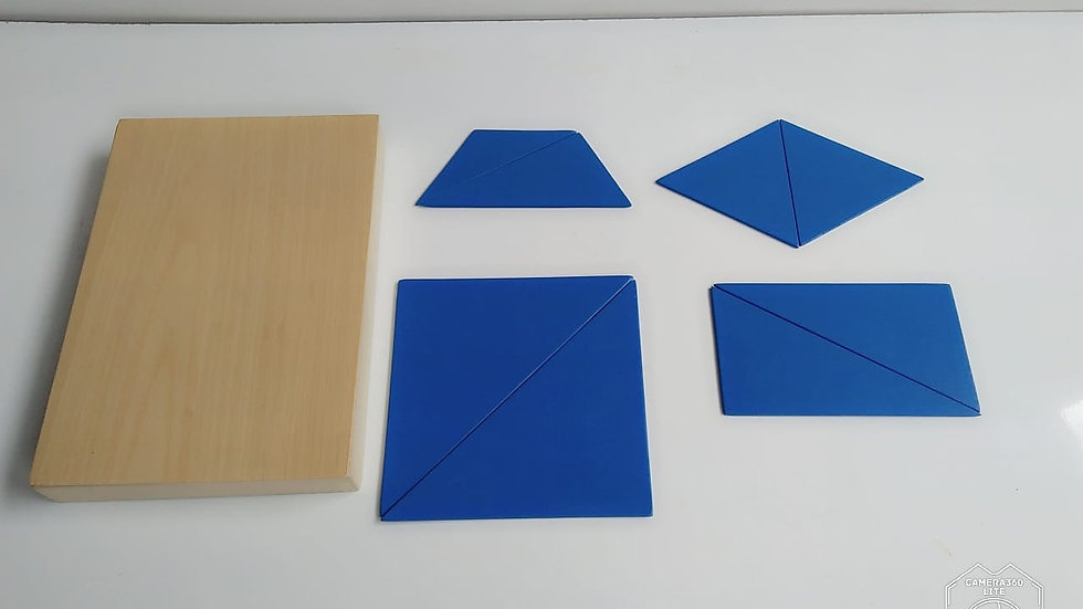 Constructive Triangle Box Set of 5 Box