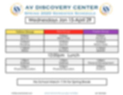 AV Discovery Sping 2020 Schedule .jpg