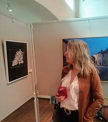Jenny Piso - bij haar genomineerde werk