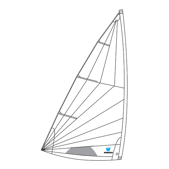 Training / School MK2 sail for Standard Laser
