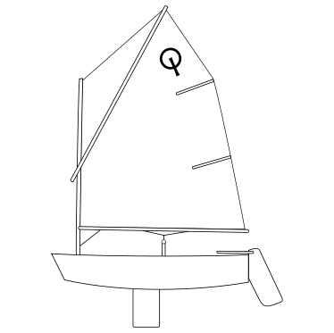 Optimist - Training mainsail