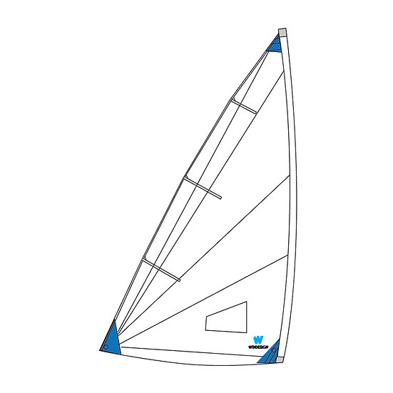 Training / School sail for Radial Laser