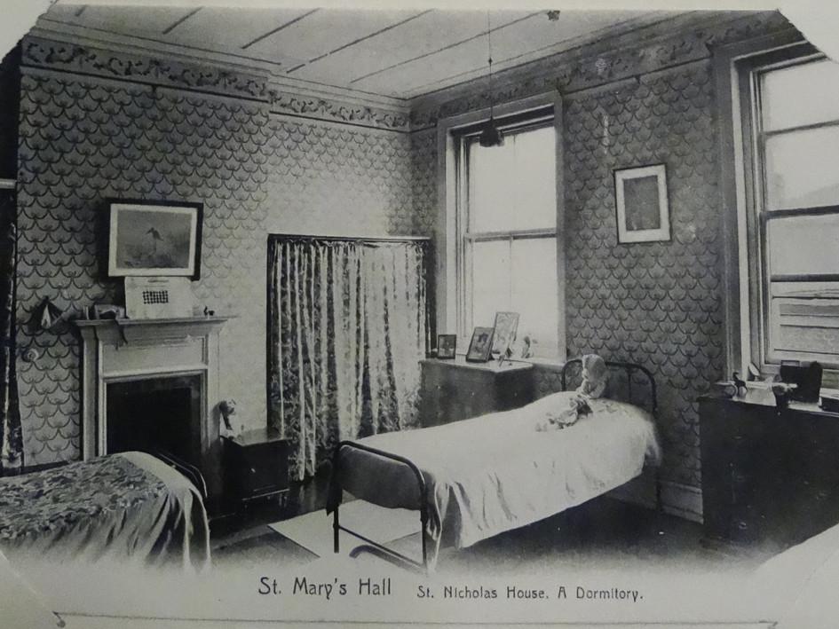 St Nicholas House, A Dormitory c1907