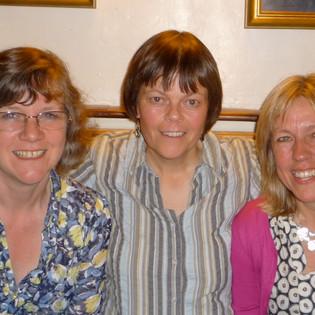 Jackie Giles (Wood), Kathy Howard, Julian Hornsby