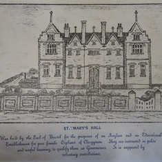 The text on this Lithograph from the 1850's puts a different slant on St Mary's Hall!