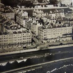 Aerial View c 1936