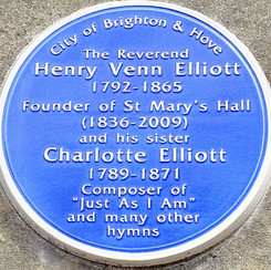 The Blue Plaque
