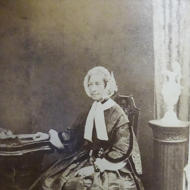 Headmistress Ellen Tompkinson, First - 1