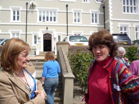 Susan James & Libby Leviseur