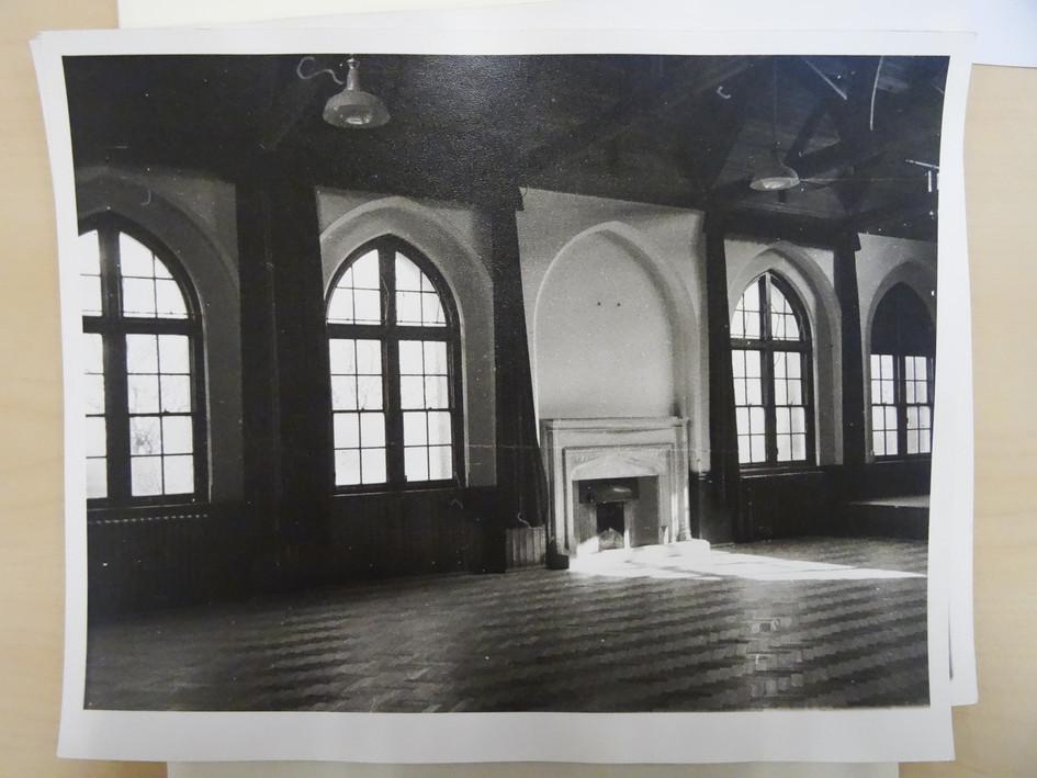 Elliott Hall Fireplace c 1969