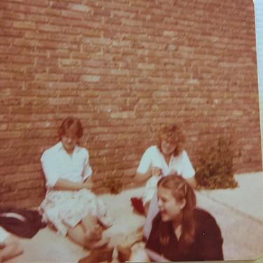 1979 Sarah Titley, Caroline White, Susan