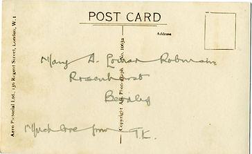 Postcard from TKP 11 Sept 1949 reverse.j