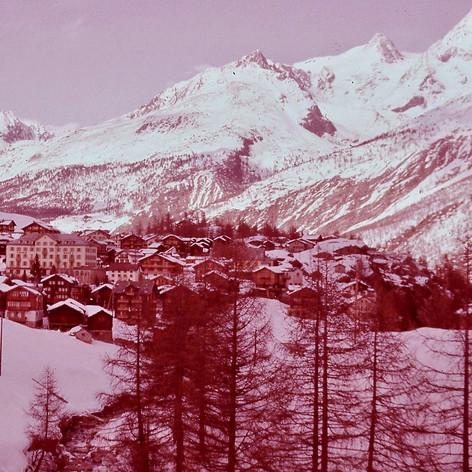 Jeanette Cureton's (Smith 1961-62) photo. School Ski trip Saas-Fee, Switzerland.
