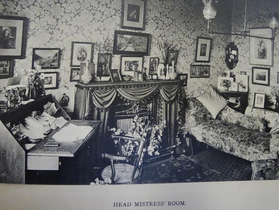 Headmistress' Room (possibly sitting room?) c 1907