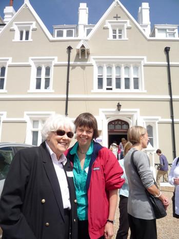 Pamela James & Kathy Howard